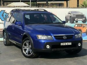 2006 Holden Adventra VZ MY06 LX6 Blue Wagon Campbelltown Campbelltown Area Preview