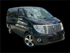 2006 Nissan Elgrand E51 Black 5 Speed Automatic Wagon Slacks Creek Logan Area Preview