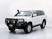 2016 Toyota Landcruiser VDJ200R MY16 Sahara (4x4) Silver 6 Speed Automatic Wagon Jandakot Cockburn Area Preview