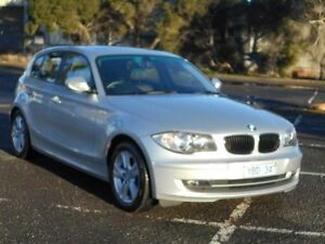 2010 BMW 118i E87 MY09 Silver 6 Speed Automatic Hatchback Maidstone Maribyrnong Area Preview