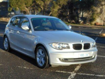2010 BMW 118i E87 MY09 Silver 6 Speed Automatic Hatchback