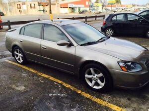 2005 Nissan Altima, SAFTIED, leather loaded, low price for sell
