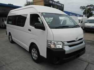 2015 Toyota HiAce KDH223R MY15 Commuter White 4 Speed Automatic Bus Five Dock Canada Bay Area Preview