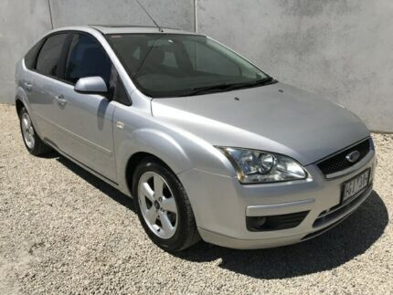 2006 Ford Focus LS LX Silver 4 Speed Automatic Hatchback Frankston North Frankston Area Preview