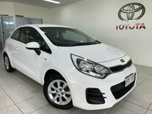 2015 Kia Rio S White Steptronic Hatchback Bungalow Cairns City Preview