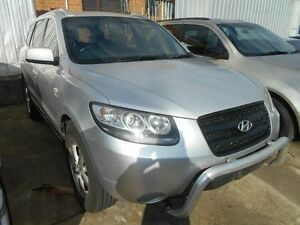 2007 Hyundai Santa Fe CM MY07 Upgrade SX (4x4) Silver 4 Speed Automatic Wagon Maidstone Maribyrnong Area Preview