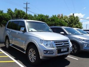 2017 Mitsubishi Pajero NX MY17 GLX LWB (4x4) Cool Silver 5 Speed Auto Sports Mode Wagon South Nowra Nowra-Bomaderry Preview