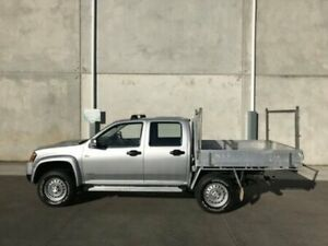 2009 Holden Colorado RC MY09 LX Crew Cab Silver Automatic Utility Bells Creek Caloundra Area Preview