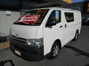 2008 Toyota HiAce TRH201R MY07 Upgrade LWB White 5 Speed Manual Van West Hindmarsh Charles Sturt Area Preview