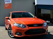 2012 Ford Falcon FG MkII XR6 Limited Edition Orange 6 Speed Sports Automatic Sedan Fawkner Moreland Area Preview