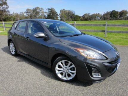 2009 Mazda 3 BL SP25 Charcoal 5 Speed Automatic Hatchback Mordialloc Kingston Area Preview