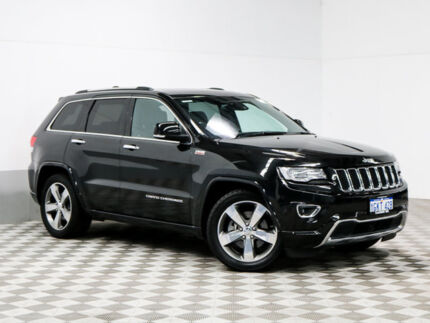 2014 Jeep Grand Cherokee WK MY14 Overland (4x4) Black 8 Speed Automatic Wagon East Rockingham Rockingham Area Preview
