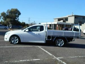 2009 Ford Falcon FG XR6 (LPG) White 4 Speed Auto Seq Sportshift Cab Chassis Maidstone Maribyrnong Area Preview