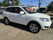 2010 Hyundai Santa Fe CM MY10 Highlander CRDi (4x4) White 6 Speed Automatic Wagon South Nowra Nowra-Bomaderry Preview