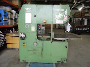 Mossner Vertical Band Saw