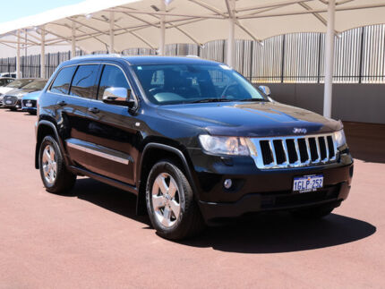2011 Jeep Grand Cherokee WK Laredo (4x4) Brilliant Black 5 Speed Automatic Wagon