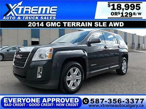 2014 GMC Terrain SLE AWD $129 BI-WEEKLY APPLY NOW DRIVE NOW