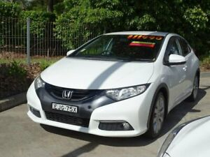 2013 Honda Civic FK MY13 VTi-S White 5 Speed Automatic Hatchback Ulladulla Shoalhaven Area Preview