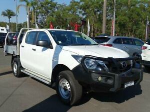 2015 Mazda BT-50 MY13 XT (4x4) White 6 Speed Manual Freestyle Cab Chassis South Nowra Nowra-Bomaderry Preview