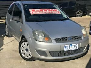 2008 Ford Fiesta WQ LX Silver 4 Speed Automatic Hatchback Werribee Wyndham Area Preview