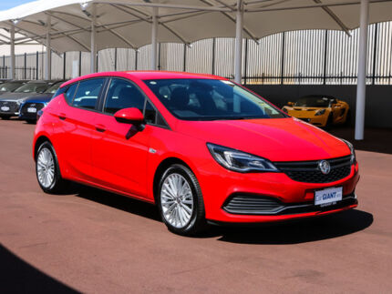 2017 Holden Astra BK MY17 R Absolute Red 6 Speed Automatic Hatchback