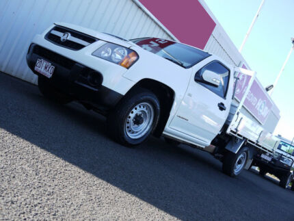 2010 Holden Colorado RC MY10 LX White 5 Speed Manual Cab Chassis