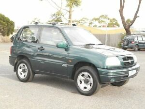 2001 Suzuki Grand Vitara (4x4) Green 5 Speed Manual Hardtop Maidstone Maribyrnong Area Preview