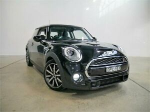 2016 Mini Cooper F56 Black 6 Speed Automatic Hatchback Petersham Marrickville Area Preview
