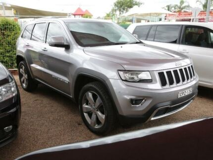 2013 Jeep Grand Cherokee WK MY2014 Limited Grey Mica 8 Speed Sports Automatic Wagon
