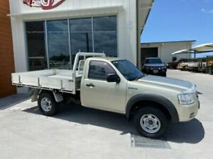 2008 Ford Ranger PJ XL SINGLE CAB Gold Manual Cab Chassis Bells Creek Caloundra Area Preview