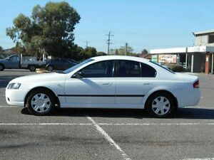 2006 Ford Falcon BF MkII XT White 4 Speed Auto Seq Sportshift Sedan Maidstone Maribyrnong Area Preview