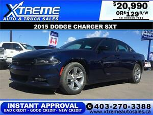 2015 Dodge Charger SXT $129 BI-WEEKLY APPLY NOW DRIVE NOW