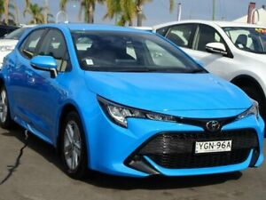 2018 Toyota Corolla Mzea12R Ascent Sport Blue Continuous Variable Hatchback South Nowra Nowra-Bomaderry Preview