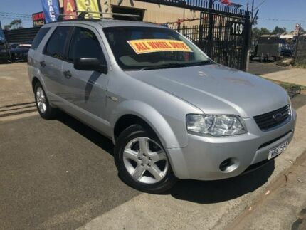 2007 Ford Territory SY TS (4x4) Silver 6 Speed Auto Seq Sportshift Wagon Werribee Wyndham Area Preview