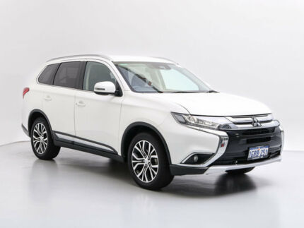 2017 Mitsubishi Outlander ZK MY17 LS (4x2) White Continuous Variable Wagon Jandakot Cockburn Area Preview