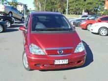 2003 Mercedes-Benz A160 W168 Elegance LWB Maroon 5 Speed Automatic Hatchback Bundall Gold Coast City Preview