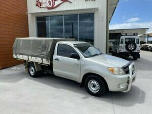 2007 Toyota Hilux TGN16R MY07 WORKMATE SINGLE CAB Silver Manual Cab Chassis Bells Creek Caloundra Area Preview