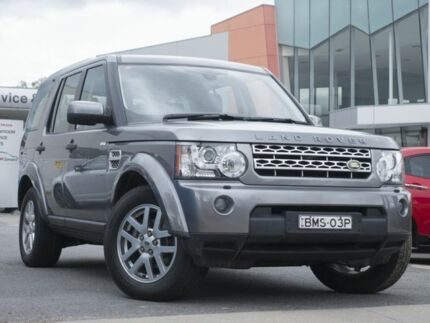2010 Land Rover Discovery 4 Series 4 10MY TdV6 CommandShift Grey 6 Speed Sports Automatic Wagon