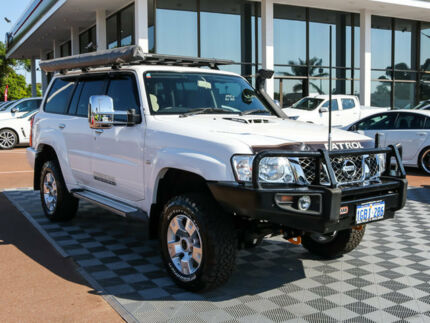 2015 Nissan Patrol Y61 GU 9 ST White 5 Speed Manual Wagon Alfred Cove Melville Area Preview