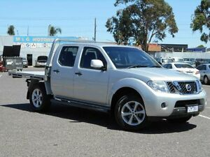 2012 Nissan Navara D40 ST (4x4) Silver 5 Speed Automatic Dual Cab Pick-up Maidstone Maribyrnong Area Preview