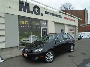 2010 Volkswagen Golf Wagon TDI Highline w/Leather/Pano Roof