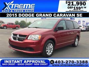2015 DODGE GRAND CARAVAN SE $169 BI-WEEKLY APPLY NOW DRIVE NOW