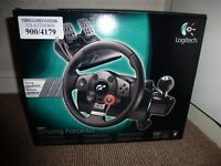 Boxed Logitech Driving Force GT Steering Wheel