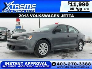2013 Volkswagen Jetta $89 bi-weekly APPLY NOW DRIVE NOW