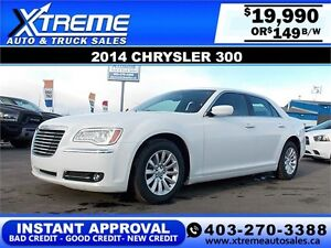 2014 Chrysler 300 $149 BI-WEEKLY APPLY TODAY DRIVE TODAY