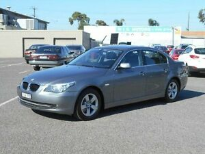 2007 BMW 520D E60 MY07 Grey 6 Speed Steptronic Sedan Maidstone Maribyrnong Area Preview