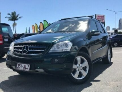 2005 Mercedes-Benz ML500 W164 Luxury Green 7 Speed Sports Automatic Wagon
