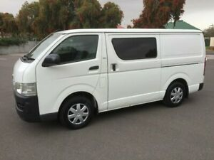 2008 Toyota HiAce TRH201R MY07 Upgrade LWB 4 Speed Automatic Van Clarence Gardens Mitcham Area Preview