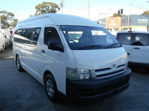 2006 Toyota HiAce TRH223R Commuter White 4 Speed Automatic Bus Five Dock Canada Bay Area Preview
