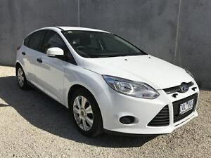 2011 Ford Focus LW Ambiente White 6 Speed Automatic Hatchback Seaford Frankston Area Preview